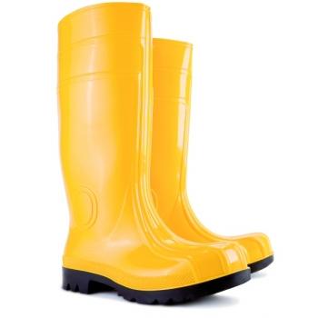 Żółte kalosze robocze ochronne MAXX A