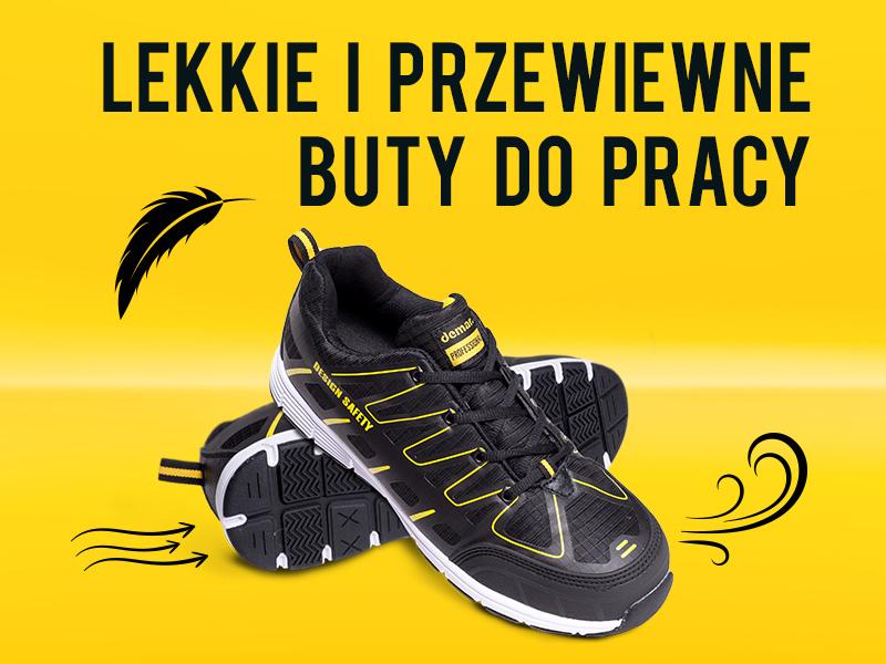 Lekkie i przewiewne buty do pracy!