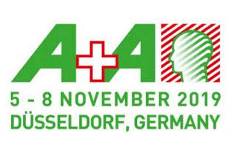 Podziękowanie -Targi A+A Dusseldorf