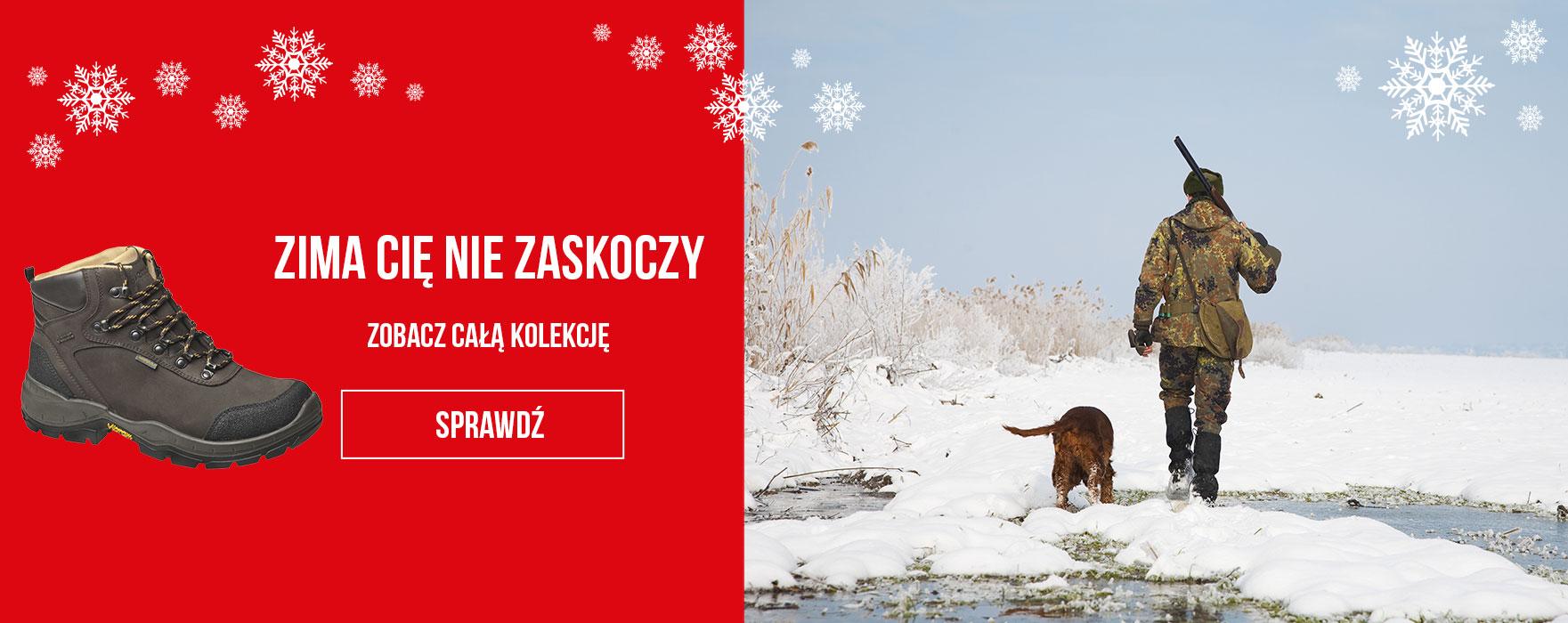 Obuwie myśliwskie i wędkarskie sezon 2017/2018